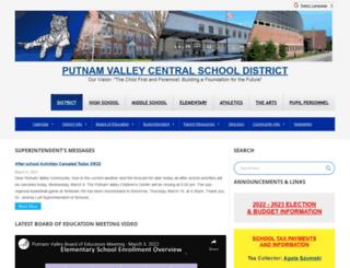 pvcsd.org screenshot