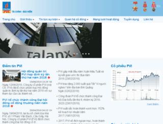 pvi.com.vn screenshot