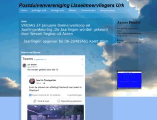 pvijsselmeervliegers.nl screenshot