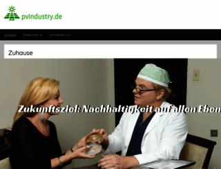 pvindustry.de screenshot