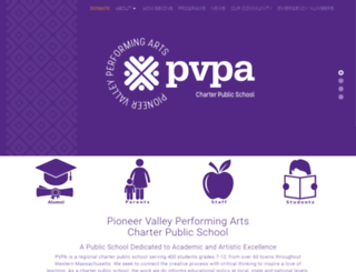 pvpa.org screenshot