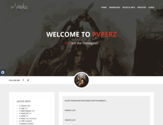 pvperz.com screenshot