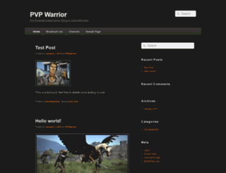 pvpwarrior.com screenshot