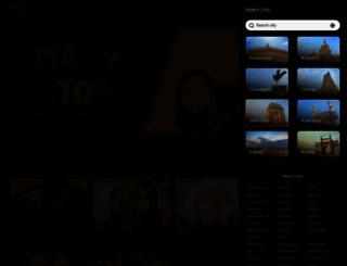 pvrcinemas.com screenshot