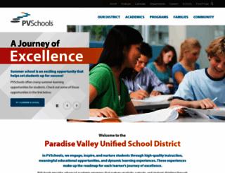 pvschools.net screenshot
