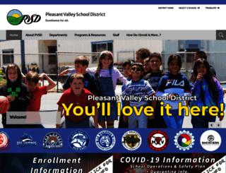 pvsd.schoolwires.net screenshot