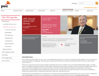 pwc-ceosurvey-benchmarking.com screenshot