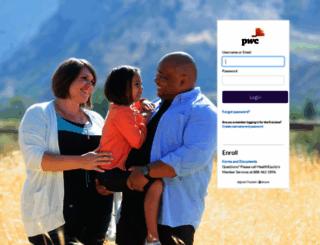 pwc.healthequity.com screenshot