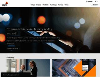 pwc.pl screenshot
