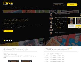pwccauctions.com screenshot