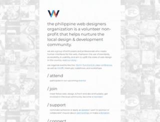 pwdo.org screenshot