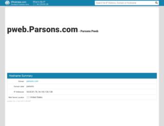 pweb.parsons.com.ipaddress.com screenshot