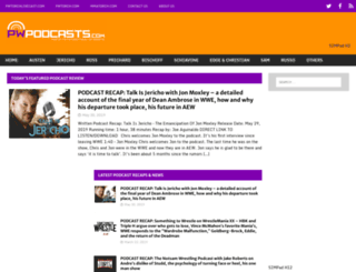 pwpodcasts.com screenshot