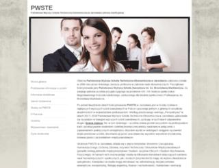 pwszjar.edu.pl screenshot
