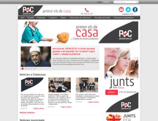 pxcatalunya.com screenshot