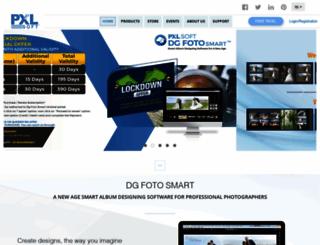 pxlsoft.com screenshot