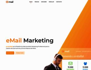 py.arrobamail.com screenshot