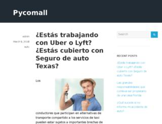 pycomall.com screenshot