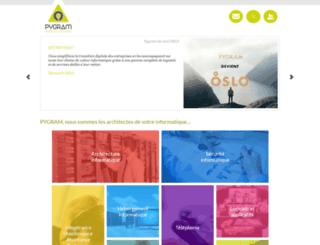 pygram.com screenshot