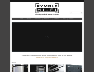 pymblehifi.com.au screenshot