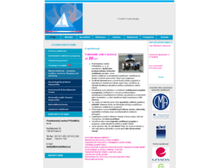 pyramidasro.cz screenshot