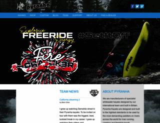 pyranha.com screenshot