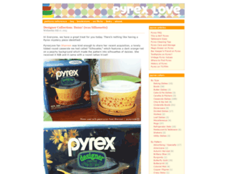 pyrexlove.com screenshot