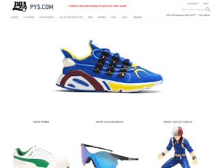pys.com screenshot