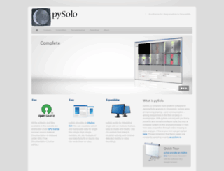 pysolo.net screenshot