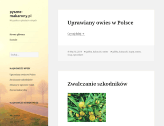 pyszne-makarony.pl screenshot