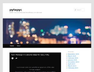 pytepyc.wordpress.com screenshot