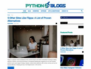 pythonblogs.com screenshot