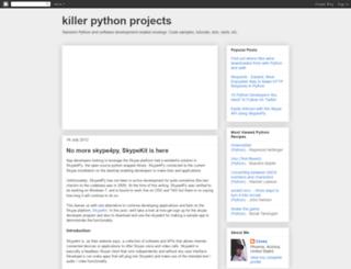 pythonprojectwatch.blogspot.com screenshot