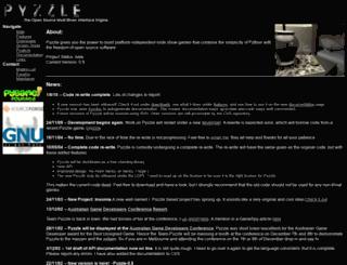 pyzzle.sourceforge.net screenshot