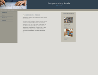 pz.org screenshot