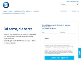 pzupomocodserca.pl screenshot