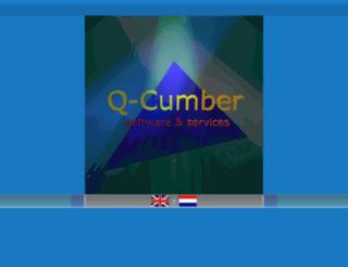 q-cumber.nl screenshot