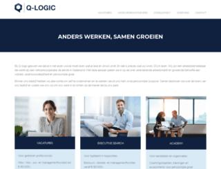 q-logic.nl screenshot