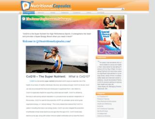 q10nutritionalcapsules.com screenshot