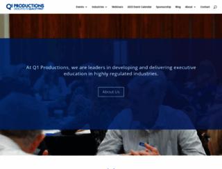 q1productions.com screenshot