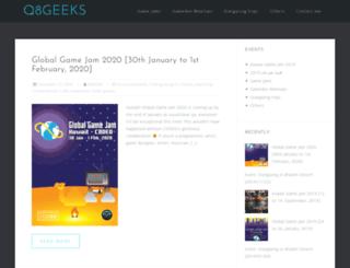 q8geeks.org screenshot