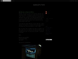 q8napster.blogspot.com screenshot