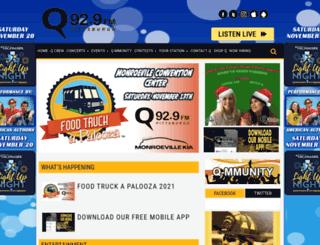q929fm.com screenshot