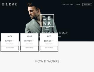 qa-lewk.echidnainc.com screenshot