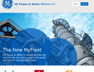 qa-myfleet.gepower.com screenshot