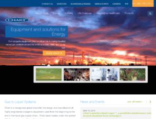 qa.chartindustries.com screenshot