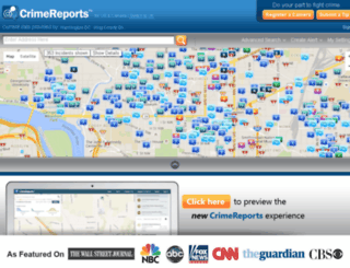 qa.crimereports.com screenshot