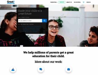 qa.greatschools.org screenshot