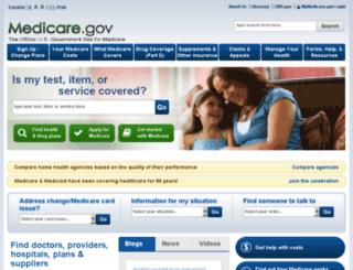 qa.medicare.gov screenshot