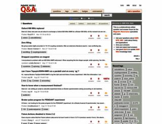 qa.nmrwiki.org screenshot
